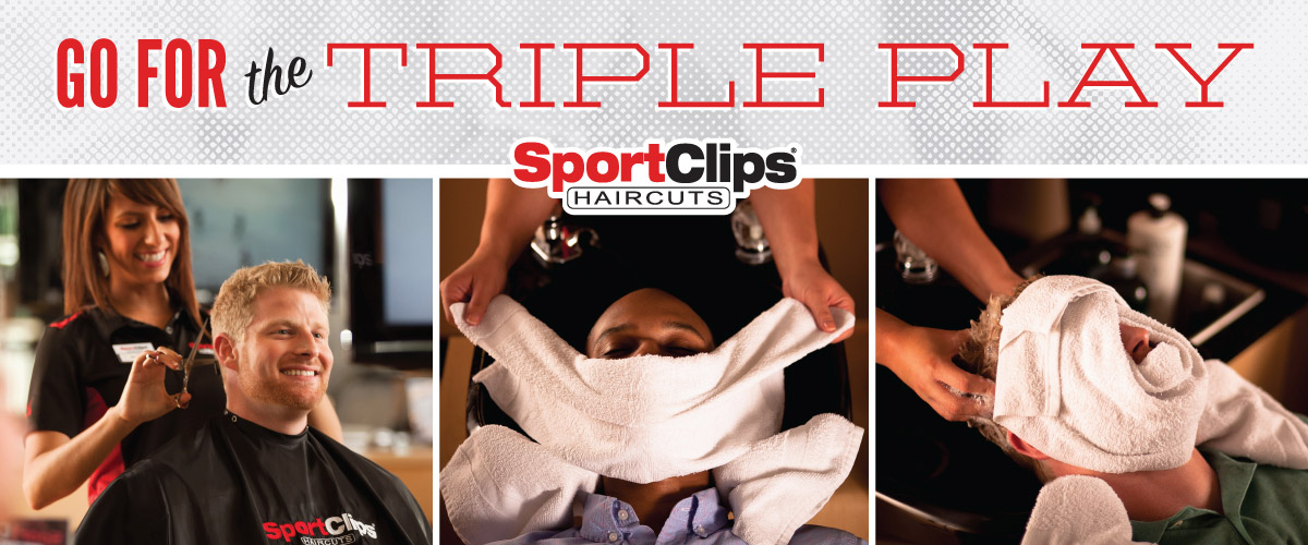 The Sport Clips Haircuts of Little Rock - Chenal Triple Play