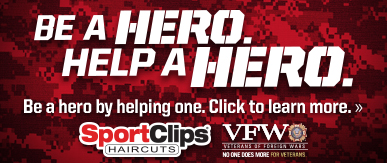 Sport Clips Little Rock - Chenal​ Help a Hero Campaign